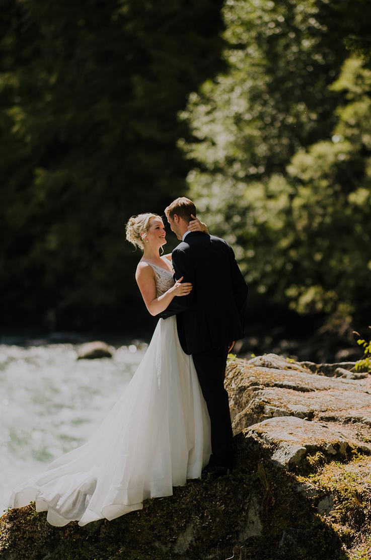 Real Bride Whistler, BC – Courtney & Colin   Paloma Blanca