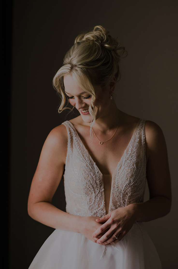 Real Bride Whistler, BC – Courtney & Colin | Paloma Blanca