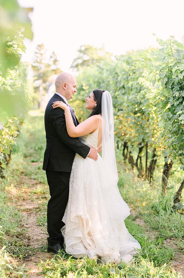 Real Bride Niagara on the Lake, ON – Gabrielle & Nicholas | Paloma Blanca