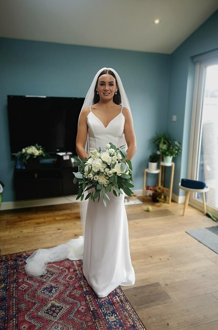 Real Bride City Hall, Dublin – Laura & Bryan | Paloma Blanca