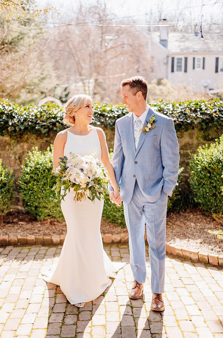 Real Bride HollyHedge Estate – Meredith & Chris | Mikaella Bridal