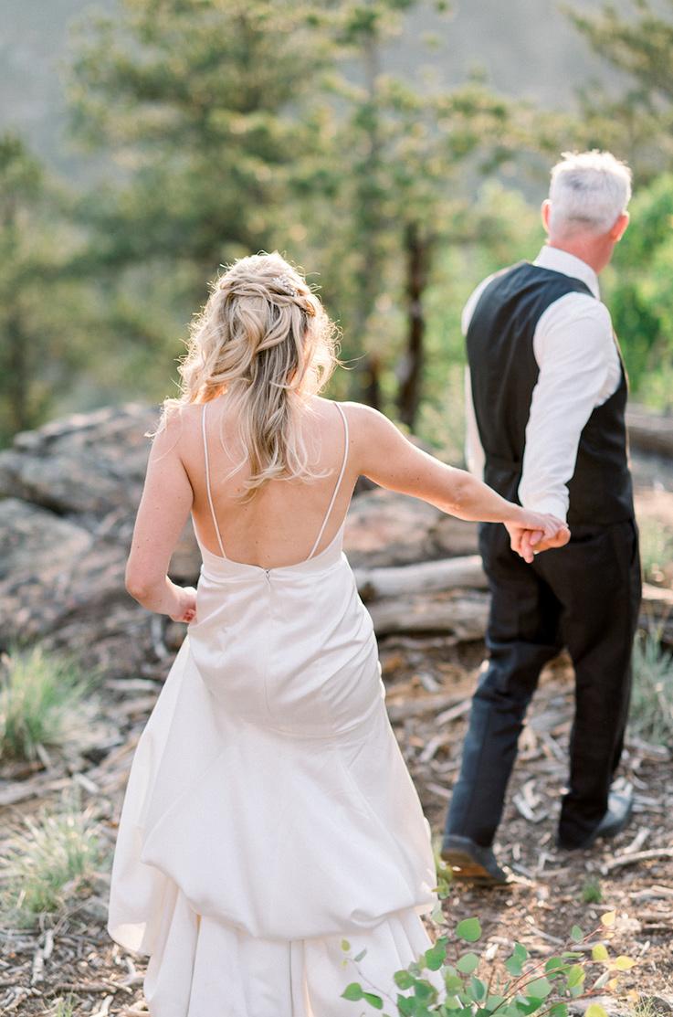 Real Bride Idaho Springs, CO – Whitney & Luke | Paloma Blanca