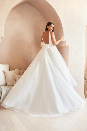 Chic Ball Gown Wedding Dress - Style #2383 | Mikaella Bridal