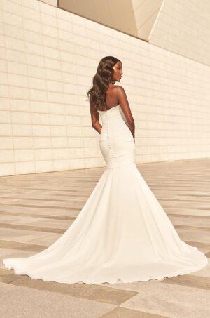 Soft Mermaid Wedding Dress - Style #4975   Paloma Blanca