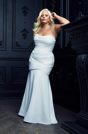 Soft Mermaid Wedding Dress - Style #4975 | Paloma Blanca