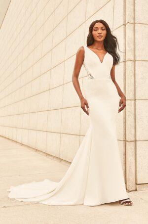 Ornate Lace Back Wedding Dress - Style #4979 | Paloma Blanca