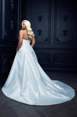Wrapped Skirt Wedding Dress - Style #4987 | Paloma Blanca