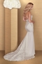 Sheer Satin Wedding Dress -Style #4669 | Paloma Blanca